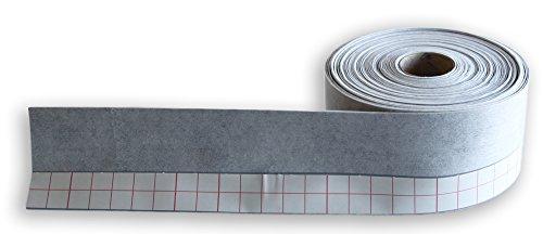 duschwannen dichtband 20m Wannendichtband, Fugenband mit einem 3cm selbstklebenden Streifen