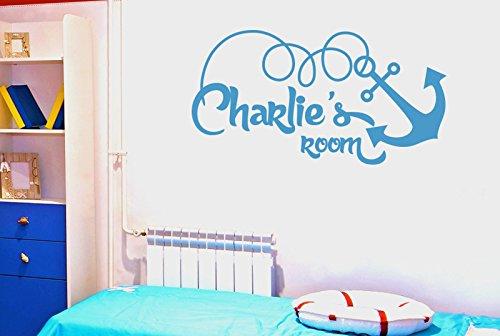 personnalis-ship-anchor-kids-room-sign-stickers-muraux-vinyle-dcor-pochoirs-murals