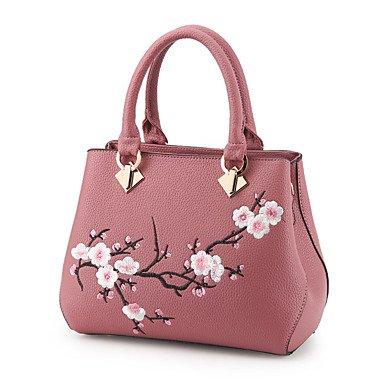 Frauen Handtasche Mode Soid Schulter Messenger Crossbody Taschen / Handtaschen Tote Blushing Pink