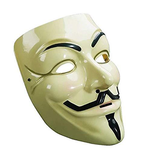 CiCy Halloweenmaske, Geistermaske, Rollenspielmaske, Maskenball, Party, Halloween, KTV, Bar Maske, Dekoration, 10 Stück