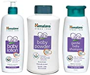 Himalaya Herbals Baby Lotion (400ml), Powder, 700gand Shampoo (400 ml) Combo