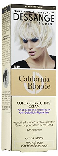 Dessange Haarpflege California Blonde Color Correcting Cream Anti-Gelbstich, 125 ml -