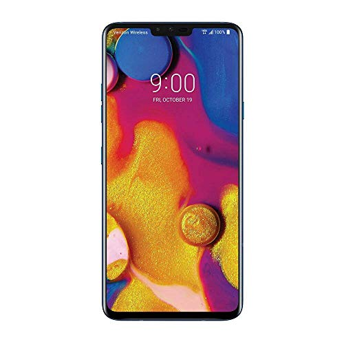 LG V40 ThinQ (LMV405EBW AGBRWU) 128GB SIM-Free 4G LTE Smartphone, 6 4