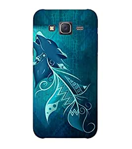 Doyen Creations Printed Back Cover For Samsung Galaxy E7