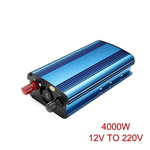 Dovlen 3000W/4000W Voiture Solaire Onduleur DC 12/24v à AC 220V Modifié Sine Wave Convertisseur - 12v to 220v 4000w