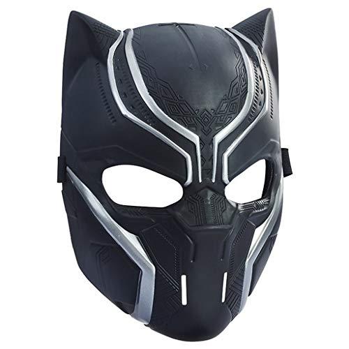 SSRS Black Panther Power Mask Legends Serie Black Panther Scope Vision Helm Maske Bürgerkrieg Rollenspiel Maske (Maske Black Panther-marvel)