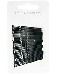 Lot de 36 pinces épingles à cheveux pour chignon noir 4,50 cm