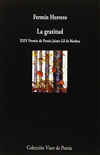 La Gratitud (Visor de Poesía) por Fermín Herrero