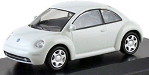 Kyosho original 1/64 VW New Beetle 1999 White