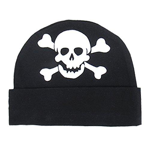 Mombebe Baby Pirate Mütze (Pirat, 0-12 Monate)