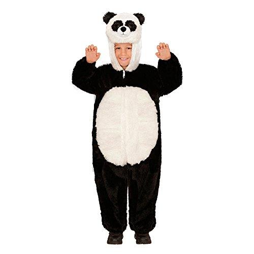 WIDMANN 98095 - Kinderkostüm Panda aus Plüsch, Overall mit Kapuze und Maske