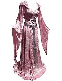 dfb8da235c9991 Hongxin Donna Gotico Punk Vestito Vita Alta Sexy Vestito Casual Hooded  Elegante Vestito da Cocktail Abito