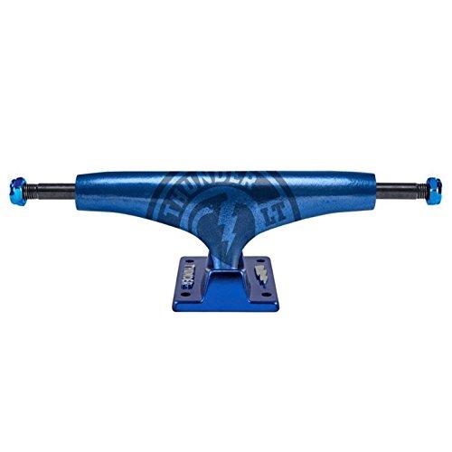 147 Trucks Skateboard Thunder (Thunder Skateboard Trucks lightstrike Metallic Lichter blau 147(20,3cm Achse) Paar)