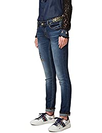 DESIGUAL JEANS FEMME DENIM SLIM 17WWDD24 EXOTIQUE