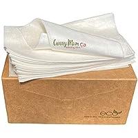 CannyMum forros biodegradables de bambú, 400 unidades