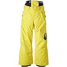 Quiksilver Snowboard Hose Planner Y Pants - Mono de esquí para niño, color amarillo, talla L
