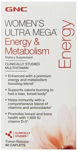 gnc-womens-ultra-mega-energy-metabolism-90-caplets-new-formula-by-gnc
