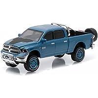 2014 Dodge Ram 1500 Big Horn Blue Pickup Truck All Terrain Series 3 1/64 by Greenlight 35030 D by Dodge