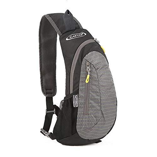 G4Free Leichte Brust Sling Schulter Rucks?cke Nette Umh?ngetasche Dreieck Pack Rucksack zum Wandern Radfahren Reisen oder Multipurpose Tagepacks