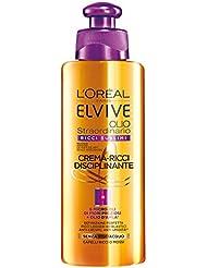 Elvive Elvive Olio Straordinario Ricci Sublimi, Crema-Ricci Disciplinante - 200 ml