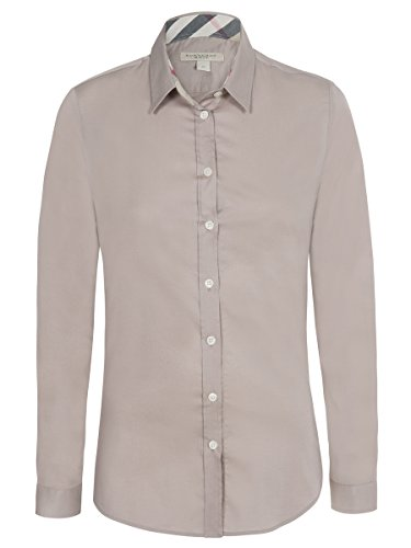 burberry-chemisier-femme-chic-shirt-stretch-beige-m