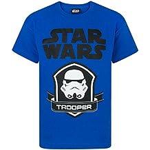 Star Wars - Camiseta de manga corta - Camiseta gráfica - Manga corta - para niño