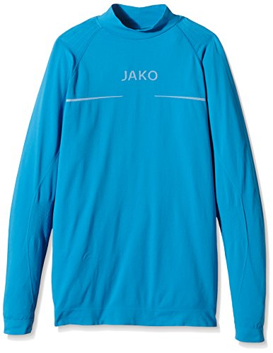 JAKO Turtleneck Comfort Blau, M