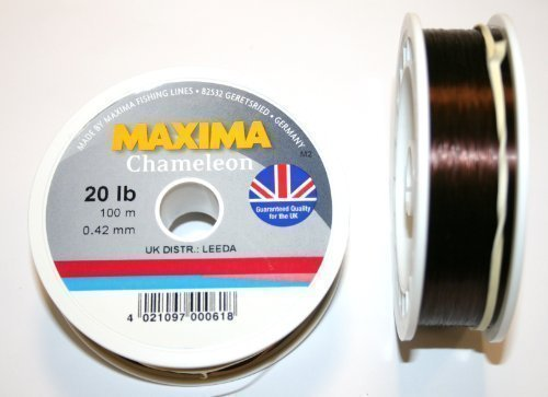 Maxima Chameleon 20lb 100 metres fishing line by Maxima