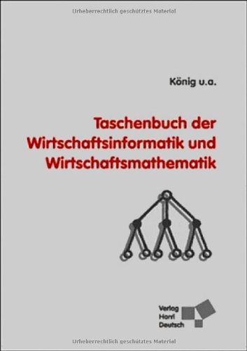 Buchcover: Taschenbuch der Wirtschaftsinformatik und Wirtschaftsmathematik