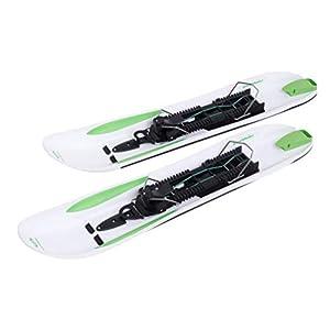 Crossblades Schneeschuhe Hardboot, neuartiges Schneeschuh System mit dem Man steigen, Fahren und gleiten kann, ähnlich eines Tourenski, komplett mit Wendeplatte für Ski und Steigfell