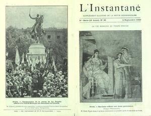 INSTANTANE [No 36] du 04/09/1920 - LA VIE ROMAINE AU TEMPS D'OVIDE - INAUGURATION DE LA STATUE DE LA FAYETTE A METZ PAR LES CHEVALIERS DE COLOMB - SUZANNE LENGLEN GAGNANTE AUX JEUX OLYMPIQUES D'ANVERS - LETHONEN GAGNANT DU PENTATHLON - PAUL HYMANS ANCIEN MINISTRE BELGE - ROBINEAU NOUVEAU GOUVERNEUR DE LA BANQUE DE FRANCE par Collectif
