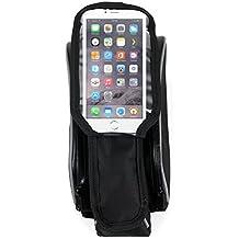 DURAGADGET Alforja Para Apple Iphone 7 | 6s | 6 | 5C | 5S | 5 | 4s | 4 - Para Cuadro De Bicicleta - De Alta Calidad - Garantía 2 Años