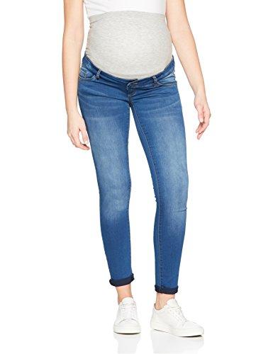 MAMALICIOUS Damen Umstandshose Mlfifty 002 Slim Jeans Noos, Blau (Medium Blue Denim), W31/L32 (Herstellergröße:31) (Hose Umstandsjeans)