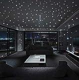 Mddjj Vendite Calde 407Pcs Bagliore Nella Stella Scura Adesivi Murali Punto Rotondo Luminoso Camera Dei Bambini Decor Vinilos Decorativos Decorazione Camera Da Letto