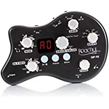 Rocktile GP-10 - Amplificador de auriculares, multiefectos