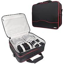 Bolsa para xbox one, Funda Organizadores Bolsa De Transporte Estuche de Viaje Deluxe para Consola Para Xbox one s / Xbox One y accesorios Negro