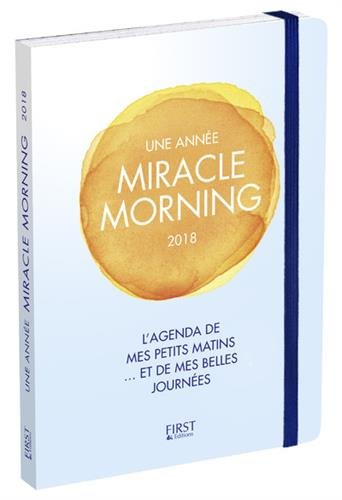 Agenda - Une anne Miracle Morning 2018
