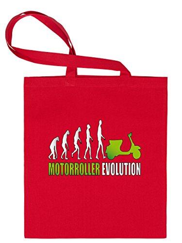 MOTORROLLER EVOLUTION 2048 Stoffbeutel (Rot-Blau)