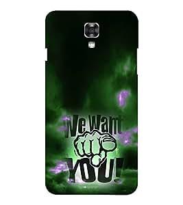 EPICCASE We Want You Mobile Back Case Cover For LG X Power (Designer Case)