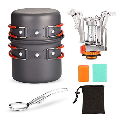 Odoland Camping Cookware Set Wit...