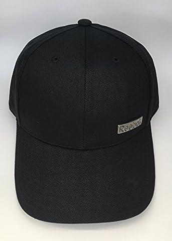 Reebok Adults SE Metal Badge Cap Black 58cm Z80820