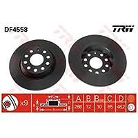 TRW DF4558 Rotores de Discos de Frenos