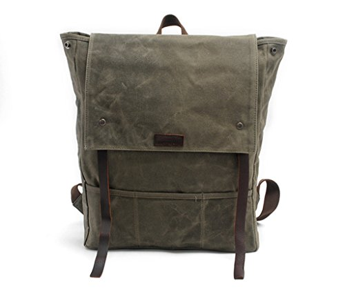 Lixmee - Borsa a Zainetto donna _17 Army Green