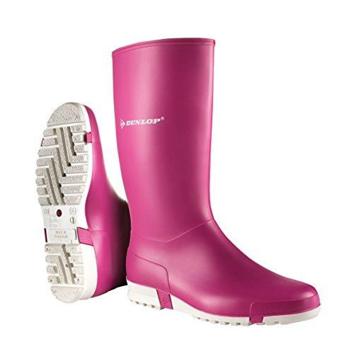 Dunlop Protective Footwear (DUO18) Dunlop Sport Retail, Botas de Goma de Trabajo Unisex Adulto, Pink, 38 EU