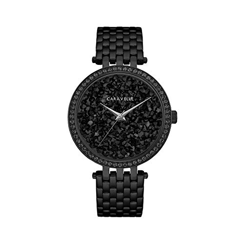 artz Stainless Steel Watch, Color:Black (Model: 45L171) ()