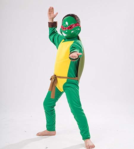 Baby Donatello Kostüm - ZSDFGH Ninja Turtles Kostüm/kostüm Ninja Kinder/kinderkostüm Schildkröte/Ninja Turtles Kostim Baby/Karneval Kostüm,Green-S
