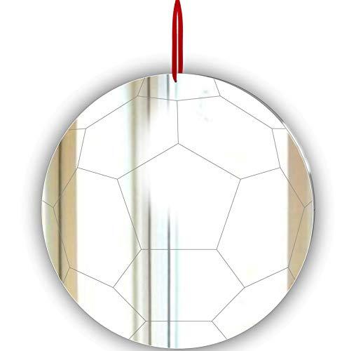 Pack Of Christmas Fußball Ornament-Fenster hängen-Decke,-Tür-Kinderzimmer-Die Kinder-Zimmer Dekoration, 3 Stück -