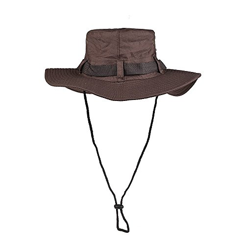 CFORWARD Boonie Hut, Sonnenhut für Herren und Damen, breite Krempe, UV-Schutz, LSF 50, atmungsaktive Outdoor-Boonie Hut mit verstellbarem Kordelzug, perfekt zum Wandern, Angeln, Coffee hat