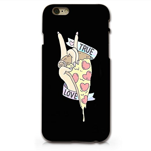 SUPERTRAMPshop Pizza True Love Kunststoff Tasche Für iPhone 6 Plus 6S Plus
