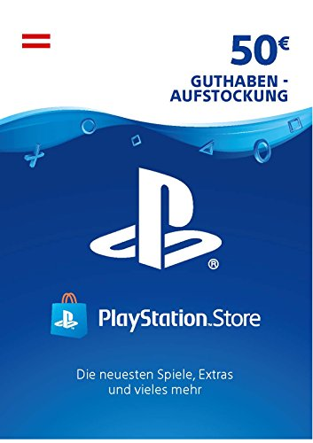 PSN Card-Aufstockung | 50 EUR | österreichisches Konto |PSN Download Code